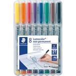 STAED Lumocolor non-permanent F 8-er Nr. 316 WP8 Universalstift 06 mm