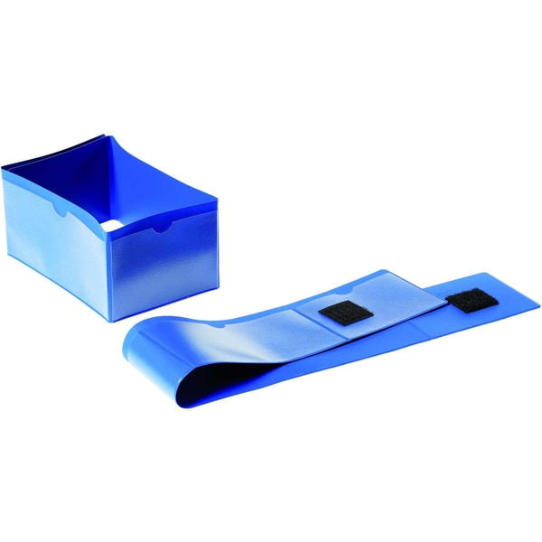 Durable Palettenfußbanderole 172407 145x75mm dunkelblau 50 St./Pack.