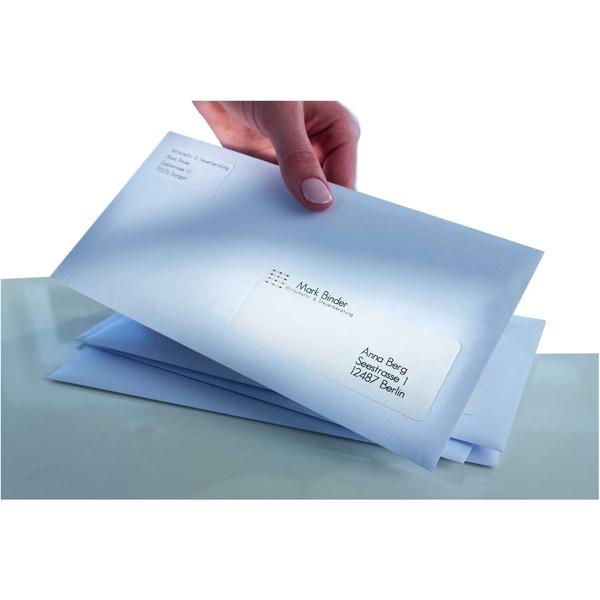 Zweckform Adress-Etikett Nr. L7160-100 PA2.100St weiß 635x381mm bedruckbar