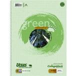 Ursus Collegeblock A4 kariert Recycling Nr. 608571020 80 Blatt 60g/m²