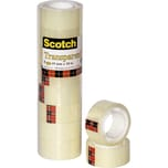 Scotch Klebeband 550 19mm x 10m Nr. 5501910. transparent. PA= 8 Rollen