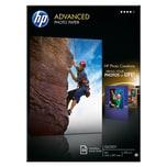 HP Advanced Fotopapier A4 250g Nr. Q 5456A. PA= 25 Blatt glänzend