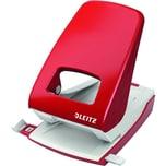 Leitz Registraturlocher New NeXXt rot Nr. 5138-25 40 Blatt