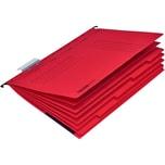 Falken Personalhefter UniReg A4 rot Nr. 15046523 kfm. Heftung Kraftkarton