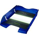 Helit Briefablage A4/C4 transparent blau Nr. H2363530 bruchsicheres PET