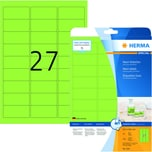 Herma Neon-Etikett Nr. 5143 neongrün PA 540 Stück 635x296mm