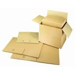 Faltkarton Wellpappe braun 39x29x20cm