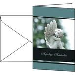 Sigel Trauerkarte Im Gedenken DS007 C5 115x170mm 10 St./Pack. +Umschläge