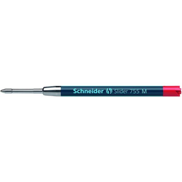 Schneider Kugelschreibermine Slider 755 Nr. 175602 M rot G2-Großraum