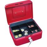 Wedo Geldkassette Größe 2 rot Nr. 145202X. 20x16x9cm