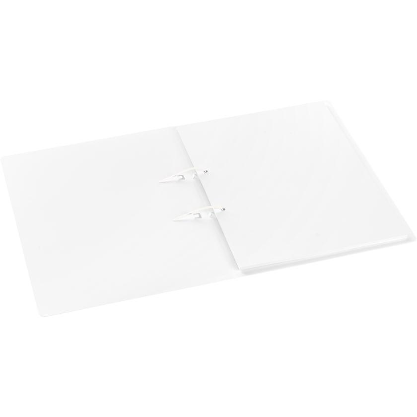 Jalema Schnellhefter Avanti A4 weiß 1500130 12mm Stripbinder Heftmechanik