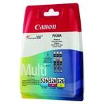 Canon Tintenpatrone CLI526 Multipack c/m/y 3 St./Pack.