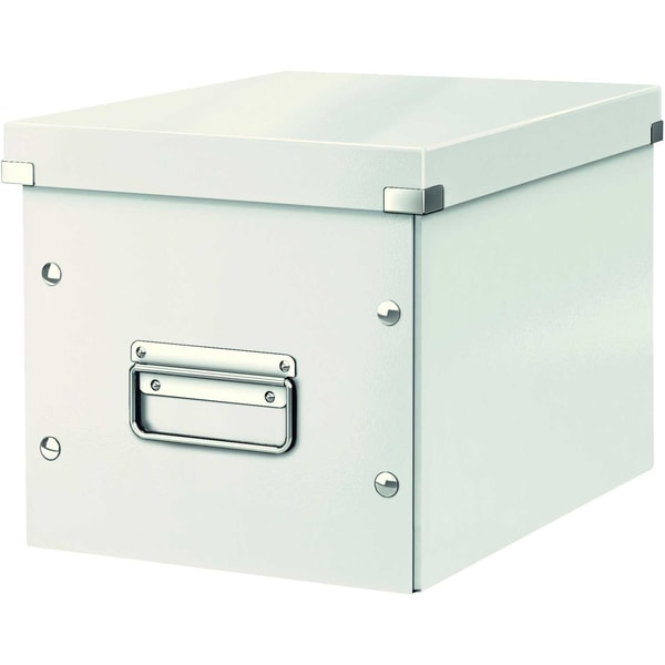 Leitz Archivbox Click & Store Cube A4 Nr. 6109-01 26x24x26cm weiß