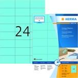 Herma SuperPrint Etiketten Nr. 4406 blau PA 2.400 Stk 70x37mm Signalcharakter