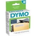 Dymo Adress-Etikett S0722520 Weiß Pa= 500 Etiketten/Rolle 54X25Mm