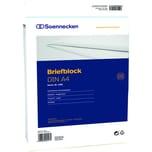 Soennecken Briefblock A4 rautiert 50Bl. Nr. 1383