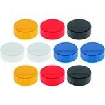 Magnetoplan Magnet Discofix Ø 34mm gelb Nr. 1660002 Haftkraft 2.000g PA 10Stk