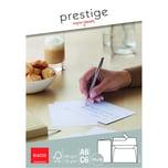 Elco Briefumschlag Prestige C6 haftkleb. PA 10St hochweiß ohne Fester 120g/m²