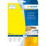 Herma Etikett Nr. 5058 gelb PA= 280St. 105x42.3mm bedruckbar
