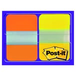Post-it Haftnotiz Index Strong 244x432 Nr. 686-OY gelb/orange PA 2x 8Blatt