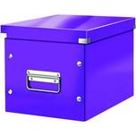 Leitz Archivbox Click & Store Cube A4 Nr. 6109-62 26x24x26cm violett