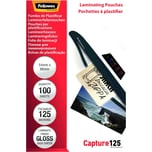 Fellowes Laminierfolie Capture 125mic Nr. 5306302 54x86 mm PA100Stk