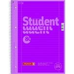 Brunnen Collegeblock Student A4 liniert Nr. 1067927126 80Blatt 90g pink