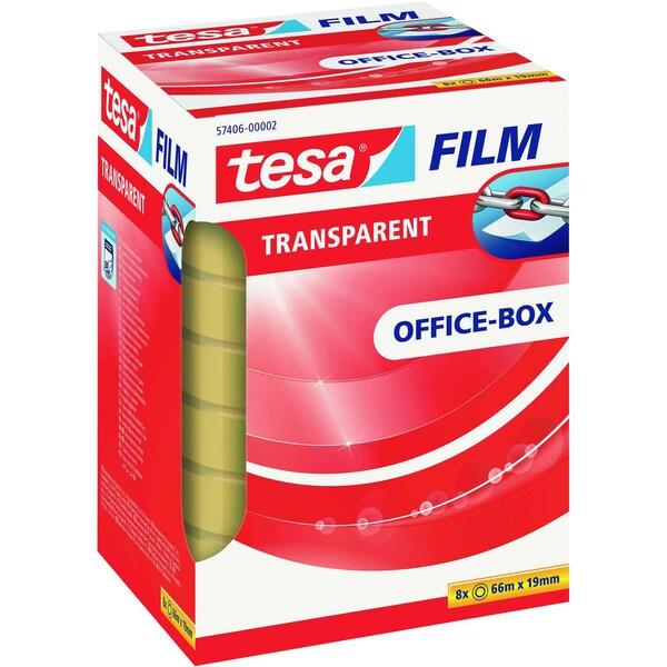 tesa Klebefilm 19mmx66m Nr. 57406 PA= 8 Rollen