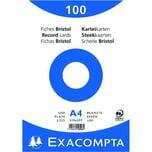 ExacomPTA Karteikarte A4 blanko weiß Nr. 10506E PA 100 Stück