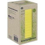 Soennecken Haftnotiz oeco 75x75mm Recycling gelb Nr. 5878. 16 Block à 100 Blatt