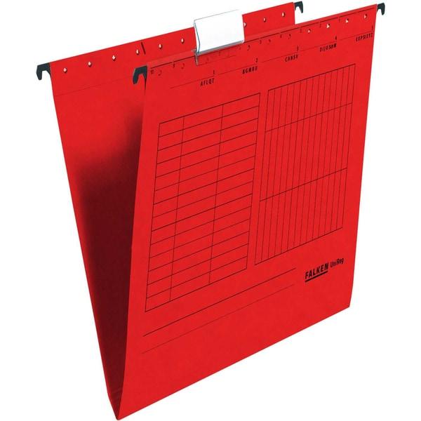 Falken Hängemappe UniReg A4 rot Nr. 80002496 230g Kraftkarton
