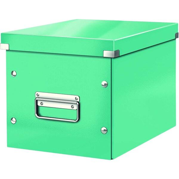 Leitz Archivbox Click & Store Cube A4 Nr. 6109-51 26x24x26cm eisblau