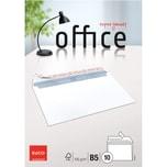 Elco Briefumschlag B5 haftklebend 100g Nr 74495.12. PA= 10Stk hochweiß