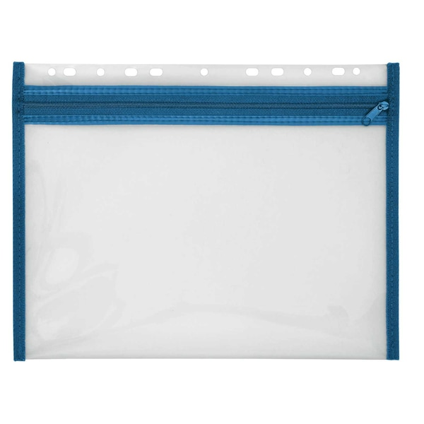 Velobag Reißverschlusstasche XS A4 Nr. 4354050 blaue Kante abheftbar