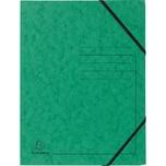 ExacomPTA Eckspanner A4 Karton grün Nr. 555413E. Colorspan