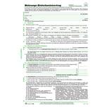 RNK Einheitsmietvertrag A4+ Nr. 599. 6 Seiten. nicht durchschreibend