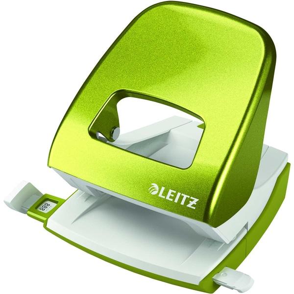 Leitz Locher New NeXXt Wow grün Nr. 5008-20-64 30 Blatt
