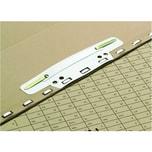 Elba Einsteckheftstreifen kurz weiß PVC Nr. 100551905 PA 25 Stück