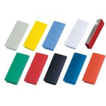 Magnetoplan Magnet Block Ferrit rot Nr. 1665103 54x19mm 1.300g PA 10St
