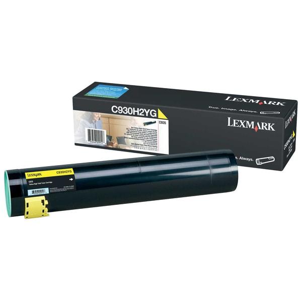 Lexmark Toner C930H2YG für C930 24.000S. gelb