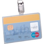 Durable Ausweishülle Betriebsausweis Nr. 8113-19 54x85mm PA 25 Stück