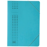 Elba Chic Eckspanner A4 blau Karton 400010053 450g/m² ca. 150 Blatt