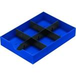 styro Schublade styrodoc 268-405.35 1Längs-/2Querstege blau