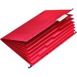Falken Personalmappe UniReg A4 rot Nr. 15046580 Organisationsaufdruck
