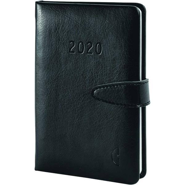 Chronoplan Buchkalender Mini 2020 Nr. 50820 1W/2S Hardcover
