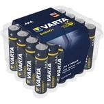 Varta Batterie Energy Alkali-Mangan Aaa Nr. 4103229224 15Vlr031.200Mah 24St