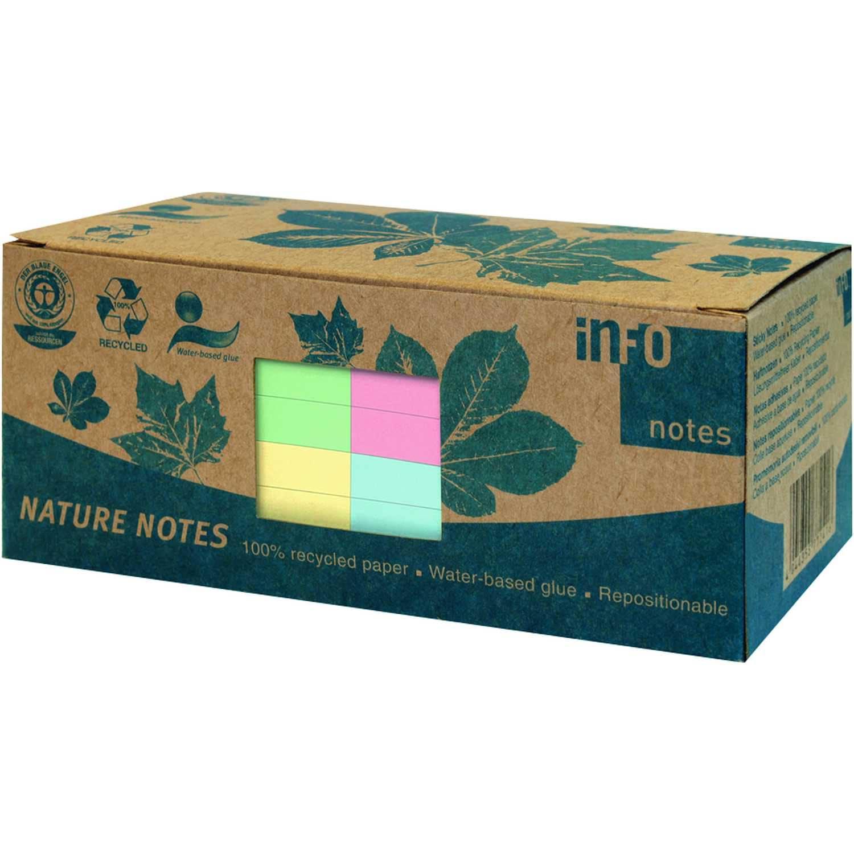 Print Inform Haftnotiz 75x75mm farbig Nr. 5654-88 12 Block à Blatt