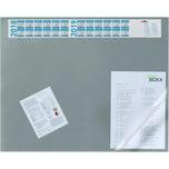 Durable Schreibunterlage grau Nr. 7203-07. 65x52cm. Jahreskalender. PVC