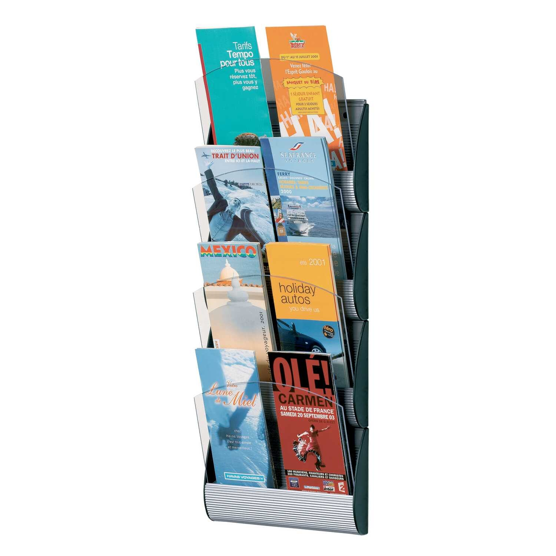Paperflow Wandhalter Integral 4065x4.35 4 Fächer DIN A5