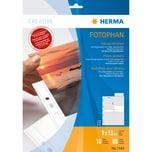 Herma Fotohülle Fotophan Nr. 7583 weiß PA= 10Stk. für 9x13mm hoch